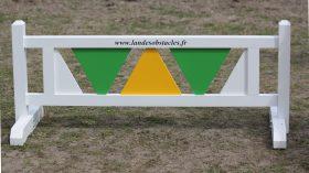 Barrière de Pied triangle Peinte